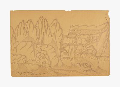 Joseph Yoakum, 'Mt. Snohetta Near Andaisnes, Norway', n.d.