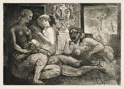 Pablo Picasso, 'Femmes Entre Elles Avec Voyeur Sculpté (Clin D'Œil Au Bain Turc)', 10