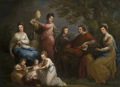 Angelica Kauffmann, 'The Family of the Earl of Gower', 1772