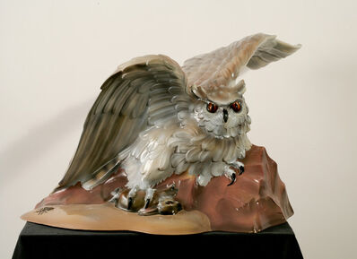 Luis Jimenez, 'Owl (From Progress II)', 1980