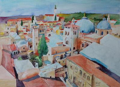 Hosni Radwan, 'Jerusalem', 2017