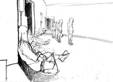 Philippe Parreno, 'Tino Sehgal's Annlee, drawn at Palais de Tokyo', 2013