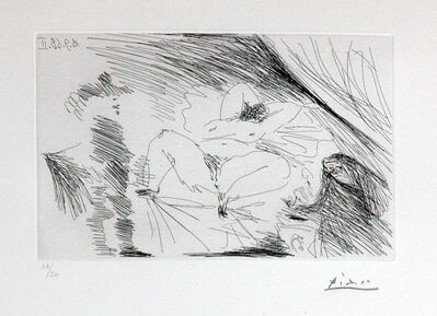 Pablo Picasso, '18.9.1968 II - Eau forte', 1968