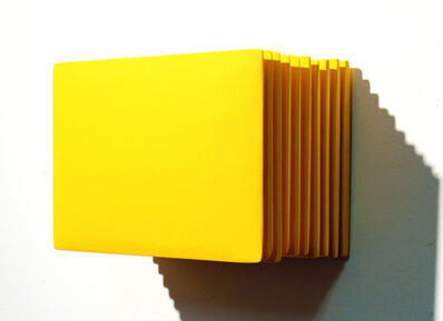 Masayuki Tsubota, 'The Layer of Self_gfm1 Yellow', 2015