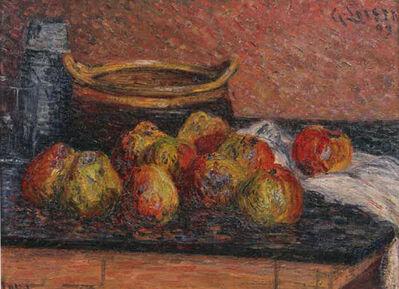 Gustave Loiseau, 'Nature morte aux pommes', 1899