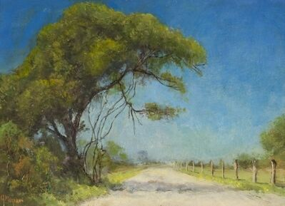 Jerry Malzahn, 'Road near Blanket Creek, Texas', 2009