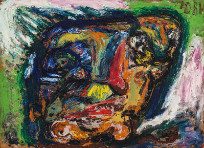 Asger Jorn, 'Untitled (Figures in a head)', ca. 1960/1963