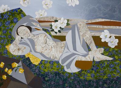 """Dinorá Justice, 'Portrait Twenty-three - after Matisse's """"Reclining Odalisque""""', 2018"""