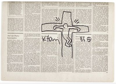 Keith Haring, 'Crucifixion', 1986