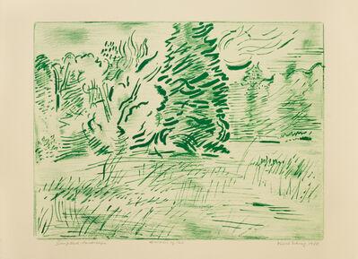 Karl Schrag, 'Sunfilled Landscape', 1988