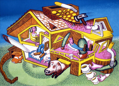 Peter Saul, 'Modern Home', 2003