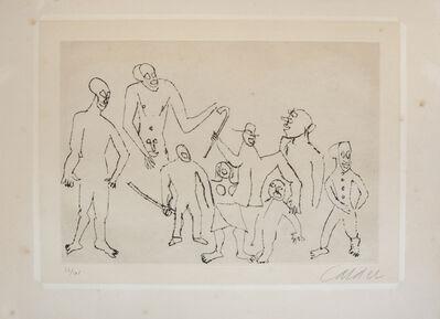Alexander Calder, 'Untitled (From Santa Claus Suite)', 1974
