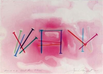 James Rosenquist, 'Drawing No. 10 for Heart Time Flowers', 1980