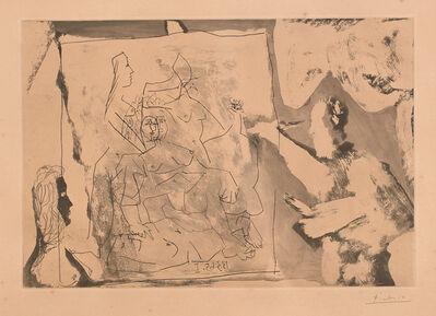 Pablo Picasso, 'Dans l'atelier (In The Workshop) (Bl. 1219, Ba. 1201)', 1965