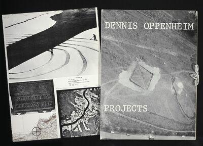 Dennis Oppenheim, 'Projects', 1973