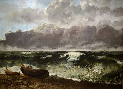 Gustave Courbet, 'Stormy Sea (The Wave)', 1870