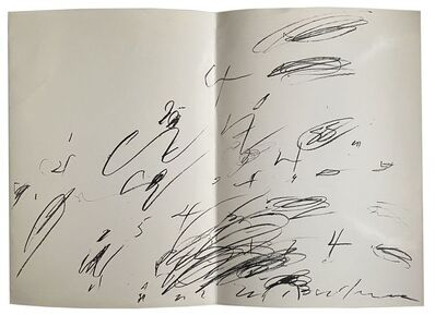 Cy Twombly, 'Cy Twombly', 1964