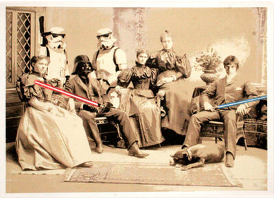 Mr. Brainwash, 'Star Wars Reunion', 2008