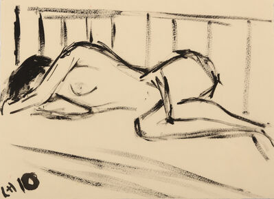 Rachel Howard, 'Sleeping Woman On A Day Bed', 2010