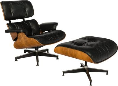 Charles and Ray Eames, 'Lounge Chair (670) and Ottoman (671)'