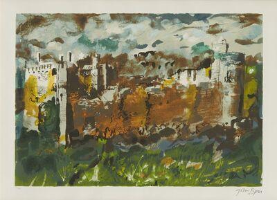 John Piper, 'Manorbier, Dyfed [Levinson 431]', 1991