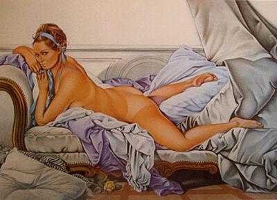 Mel Ramos, 'Touche le Boucher', 1974