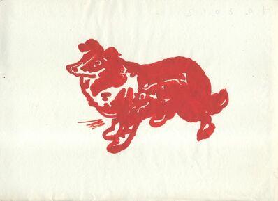 Humphrey Ocean, 'Red Dog', 2012