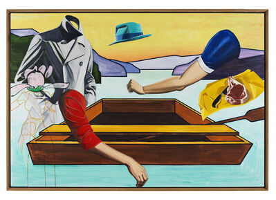 David Salle, 'On the River', 2010