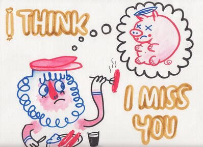 Jim Avignon, 'I think I miss you.', ca. 2009