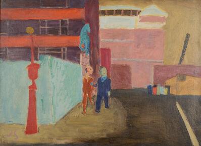 Joseph Solman, 'ASPCA: Street Near Bellevue', 1939