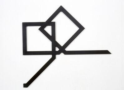 Mehdi Moutashar, 'deux carrés magiques en lettres arabes', 2000