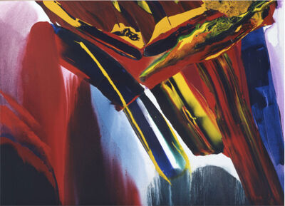 Paul Jenkins, 'Phenomena Elliptical Journey ', 1998