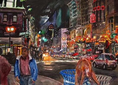 "Richard Fitzhugh, '7th Street & ""G"" Street, NW (#3)'"