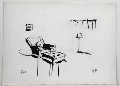 Claes Oldenburg, 'Chair', 1964
