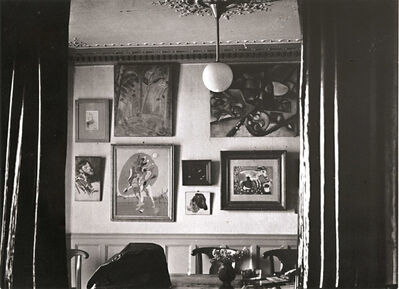 Brassaï, 'Paul Eluard's Apartment and His Painting Collection', 1944/1960c