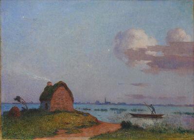 Ferdinand du Puigaudeau, 'Crépuscule en Brière'