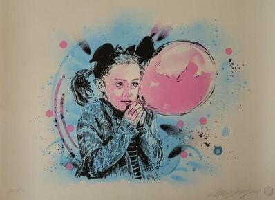 C215, 'La Fille au Ballon', 2018