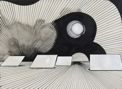 Wilhelm Sasnal, 'Solar panels I', 2014