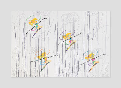 Ghada Amer & Reza Farkhondeh, 'For Wonder Women', 2006