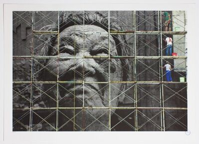 JR, 'The Wrinkles of the City, Action in Shanghai, Shi Li work in progress, China', 2010