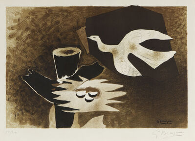 Georges Braque, 'The Bird and It's Nest after Georges Braque', 1956