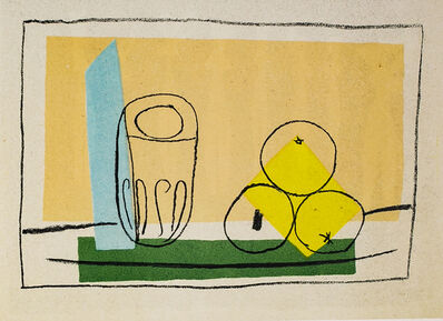 Pablo Picasso, 'Nature Morte Aux Trois Pommes (Still Life With Three Apples), 1949 Limited edition Lithogrph by Pablo Picasso', 1949