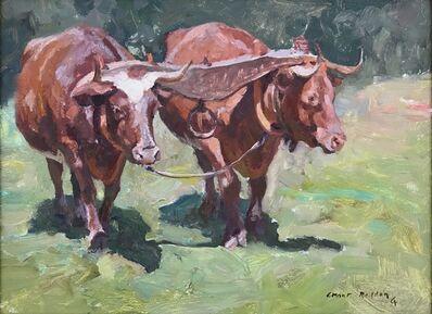 """Grant Redden, '""""Oxen""""', 2018"""