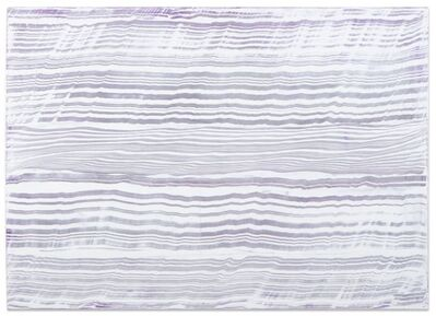 Ricardo Mazal, 'White Over Violet 3', 2016