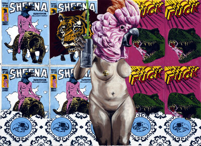 Vinz Feel Free, 'Strip Art', 2019