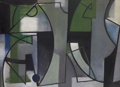 Youla CHAPOVAL, 'Vert et noir', 1949