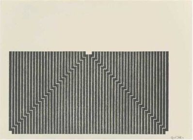 Frank Stella, 'Union Pacific', 1970