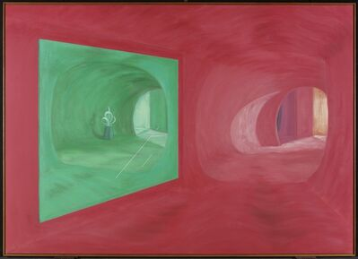Shirley Wiitasalo, 'Green Mirror with Sculpture', 1989