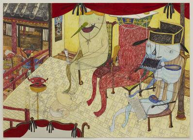Shintaro Miyake, 'Court of Great King Enma', 2012