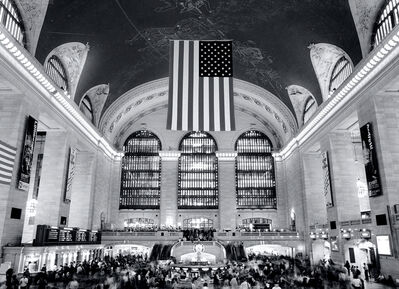 Andrew Prokos, 'Grand Central at Rush Hour', 2016